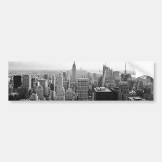 Edificio de estados de imperio Manhattan Pegatina Para Auto