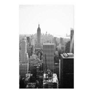 Edificio de estados de imperio Manhattan Personalized Stationery