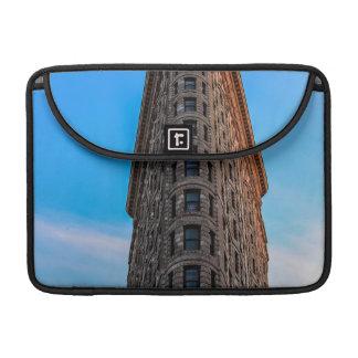 Edificio de Flatiron en la foto de New York City Fundas Para Macbooks