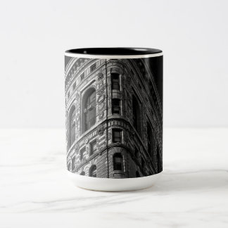 Edificio de Flatiron en Manhattan, NYC Tazas De Café