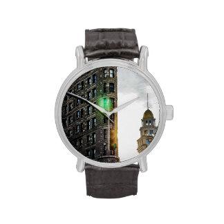 Edificio de Flatiron en New York City Relojes De Mano