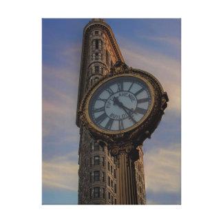 Edificio de Flatiron, New York City Impresión En Lienzo