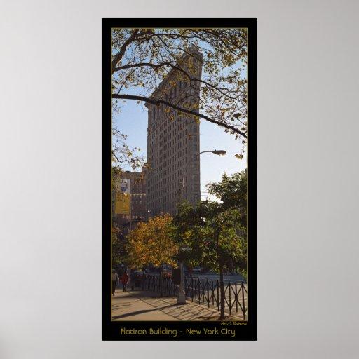 Edificio de Flatiron - New York City Impresiones