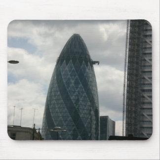 Edificio de Gerkin en Londres Tapete De Ratones