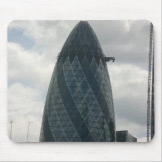 Edificio de Gerkin en Londres Alfombrilla De Ratón