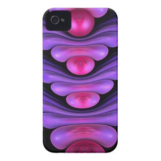 Edificio de la burbuja caso abstracto artístico d iPhone 4 protectores
