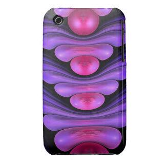 Edificio de la burbuja, caso abstracto del iPhone iPhone 3 Protectores