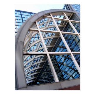 edificio de la caja registradora (Wells Fargo) Tarjeta Postal