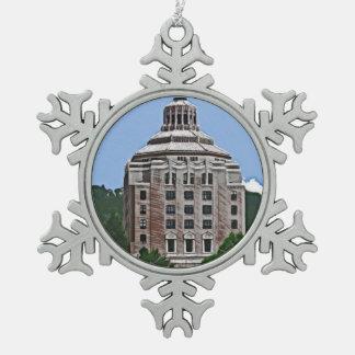 Edificio de la ciudad, Asheville, NC Adornos