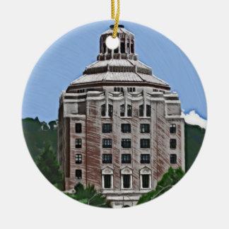 Edificio de la ciudad, Asheville, NC Ornato