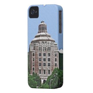 Edificio de la ciudad, Asheville, NC iPhone 4 Protector