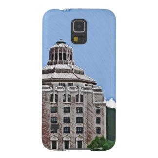 Edificio de la ciudad, Asheville, NC Carcasas De Galaxy S5