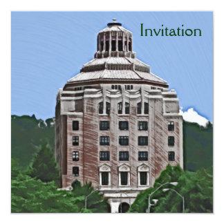 Edificio de la ciudad, Asheville, NC Anuncio Personalizado