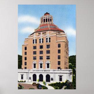 Edificio de la ciudad de Asheville Carolina del No Impresiones