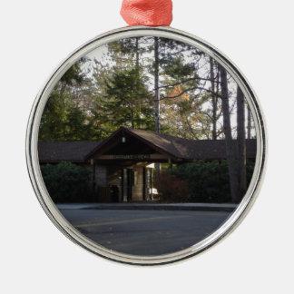 Edificio de la entrada del Gran Cañón de Pennsylva Ornamentos Para Reyes Magos