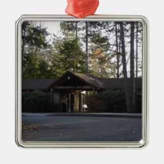 Edificio de la entrada del Gran Cañón de Pennsylva Ornamento Para Reyes Magos