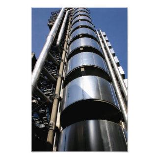 Edificio de Lloyds en la ciudad de Londres Arte Fotográfico