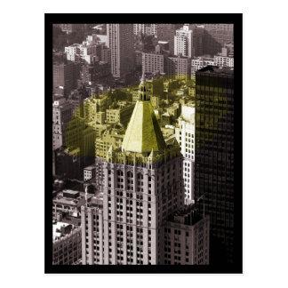 Edificio de NYC Postales