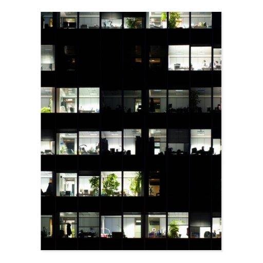Edificio de oficinas tarjeta postal