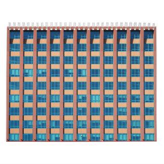 Edificio de oficinas Windows Calendario De Pared