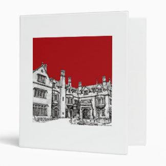 "Edificio de Pasillo del laurel en rojo Carpeta 1"""