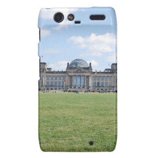 Edificio de Reichstag - Berlín, Alemania Droid RAZR Funda