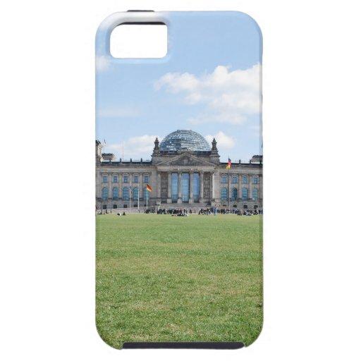 Edificio de Reichstag - Berlín, Alemania iPhone 5 Case-Mate Fundas