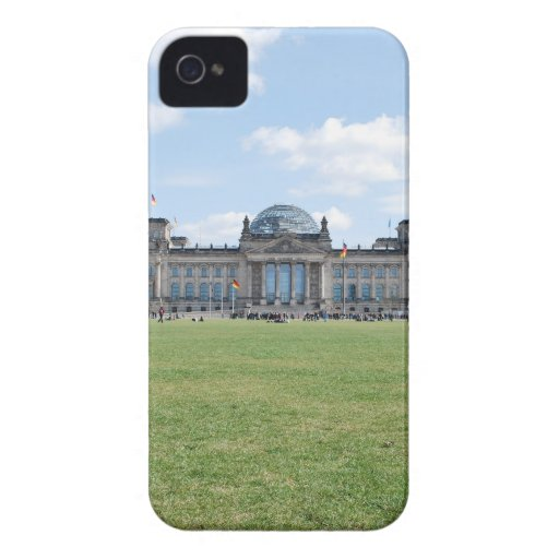 Edificio de Reichstag - Berlín, Alemania iPhone 4 Case-Mate Protector