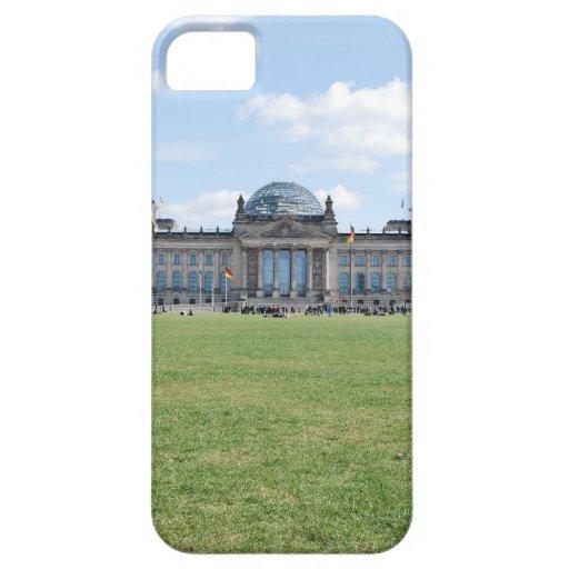 Edificio de Reichstag - Berlín, Alemania iPhone 5 Protector