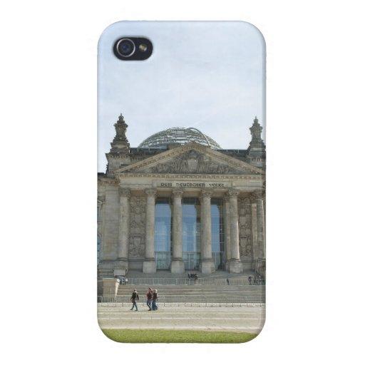 Edificio de Reichstag en Berlín iPhone 4/4S Carcasa