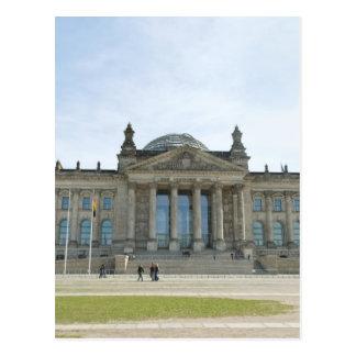 Edificio de Reichstag en Berlín Tarjetas Postales