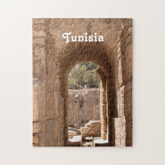 Edificio de Túnez Rompecabeza Con Fotos