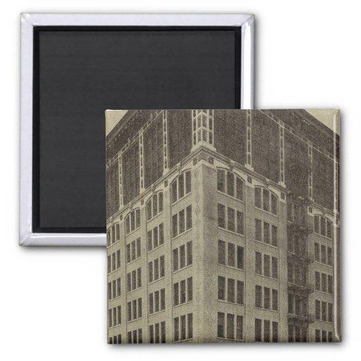 Edificio de Wellsfargo, Portland, Oregon Imán Para Frigorifico