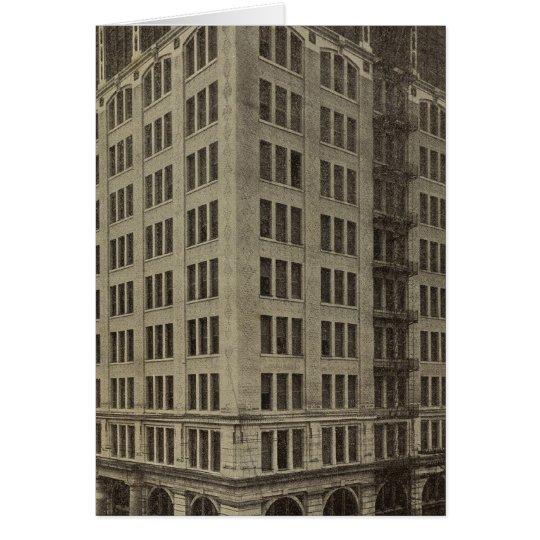 Edificio de Wellsfargo, Portland, Oregon Tarjeta De Felicitación