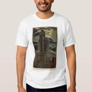 Edificio del cantante de New York City NY Polera