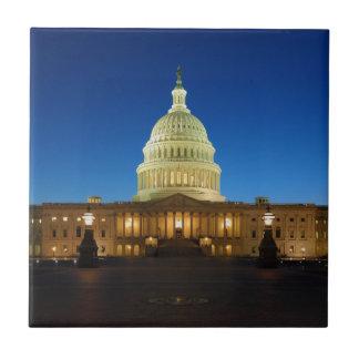 Edificio del capitolio de Estados Unidos en la osc Tejas Ceramicas