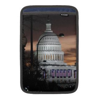Edificio del capitolio de Estados Unidos en la osc Funda Macbook Air