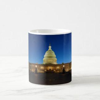 Edificio del capitolio de Estados Unidos en la Taza Clásica