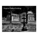 Edificio del capitolio de Virginia Postales