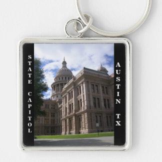 Edificio del capitolio del estado, Austin, Tejas Llaveros Personalizados