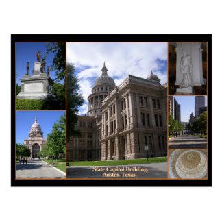 Edificio del capitolio del estado, Austin, Tejas Postales
