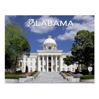 Edificio del capitolio del estado de Alabama Mont Postal
