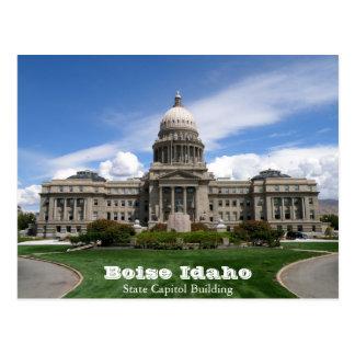 Edificio del capitolio del estado de Boise Idaho Tarjetas Postales