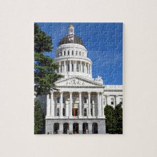Edificio del capitolio del estado de CA - Sacramen Puzzles Con Fotos
