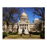 Edificio del capitolio del estado de Mississippi, Tarjetas Postales