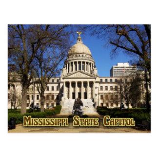 Edificio del capitolio del estado de Mississippi, Tarjeta Postal