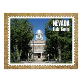 Edificio del capitolio del estado de Nevada, Carso Tarjeta Postal