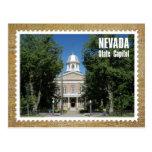 Edificio del capitolio del estado de Nevada, Postal