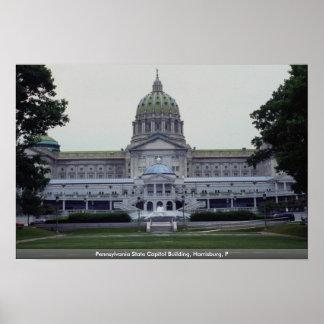 Edificio del capitolio del estado de Pennsylvania, Posters
