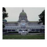 Edificio del capitolio del estado de Pennsylvania, Tarjeta Postal